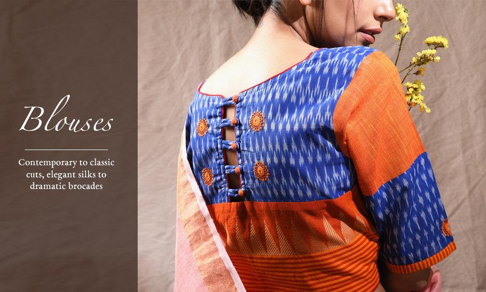 bb2a31e756655 Buy Blouses Online at Jaypore.com