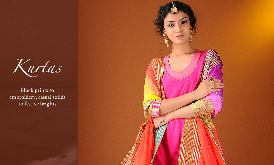 8041d287e01 Buy Kurtas Online at Jaypore.com