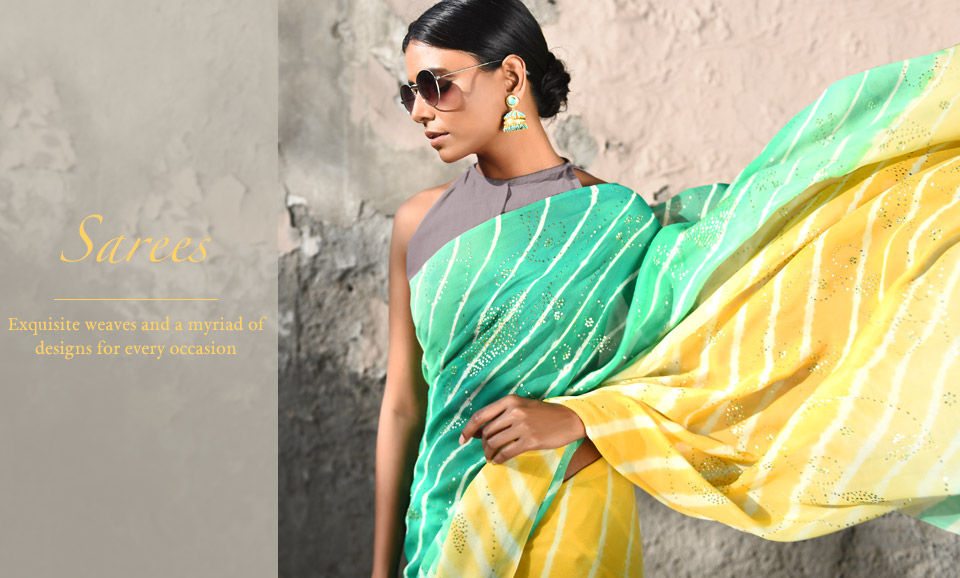 aae30caac8747 Buy Handwoven Cotton   Silk Sarees Online at Jaypore.com