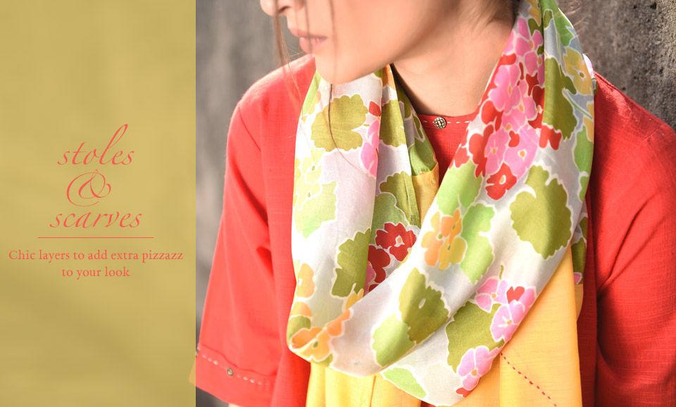 58d392030 Buy Scarves & Stylish Stoles for Women Online at Jaypore.com