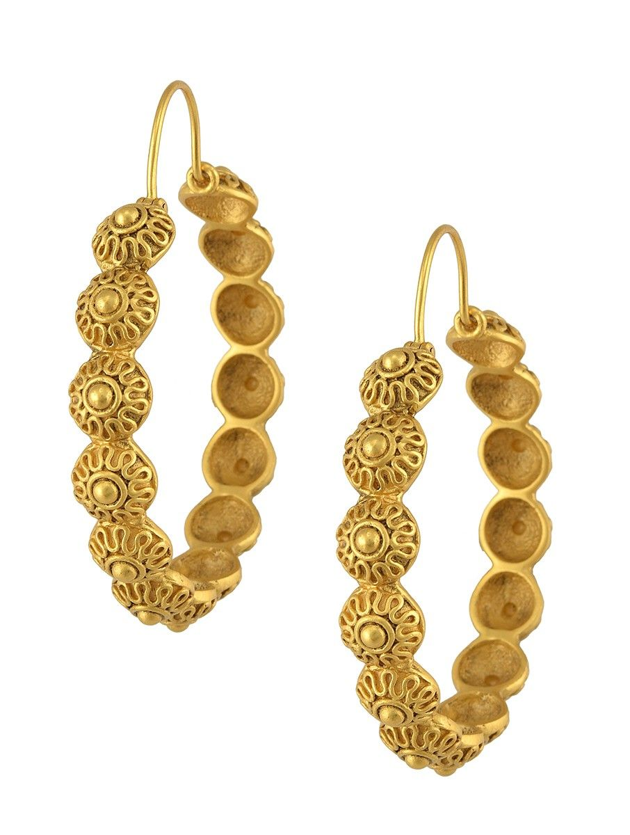 efbe40b0b Buy Gold-plated Silver Earrings Online at Jaypore.com