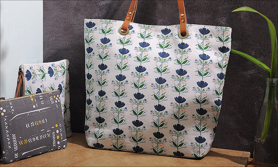 08041850a Carry Your Prints Indian Gypsy Digital-printed cotton canvas totes and  wristlets starting at $18