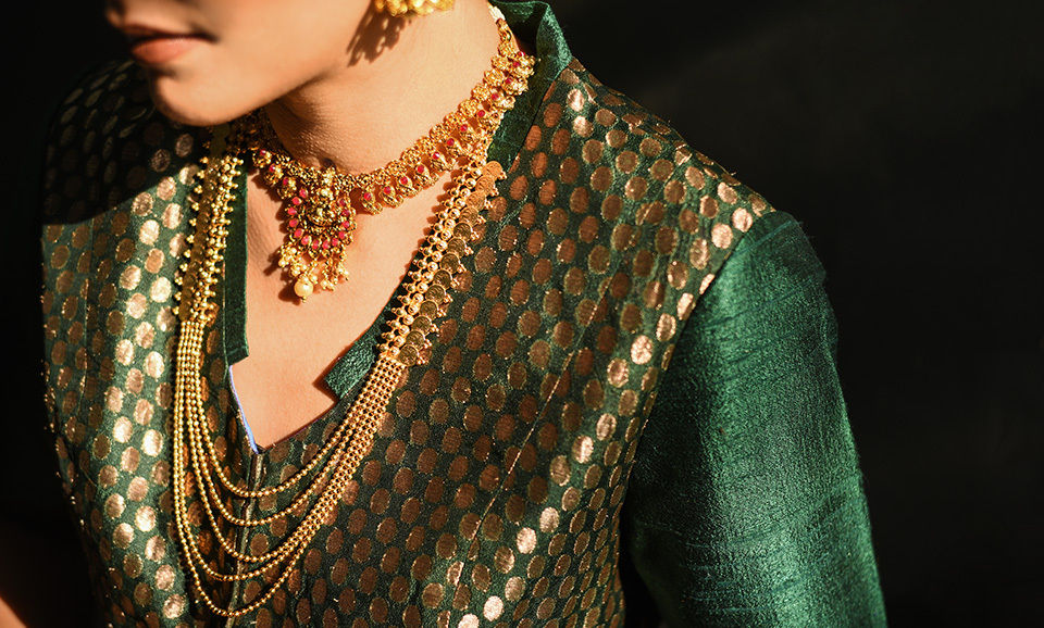 5e6b2b408ef Buy Fields Of Gold Rustic Realities Add a touch of glamour to your  ensembles with classic gold-tone and gold-plated jewelry Online at  Jaypore.com