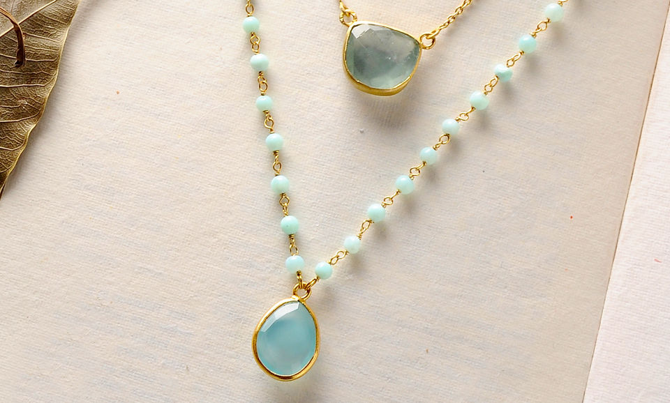 0ba767ea3 Delightful Promises Adore Jewels Gilded silver jewelry embellished with  colorful stones