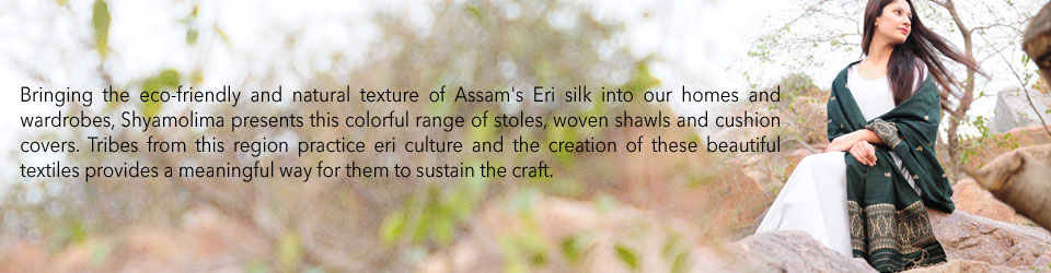5fb9826ba Buy Assam Affair by Shyamolima Eri   Mulberry Silk Stoles