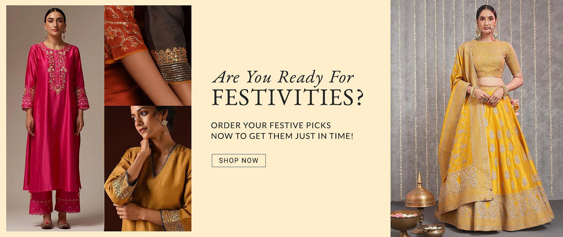 festive links for apparel