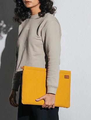 Mustard Canvas Laptop Sleeve