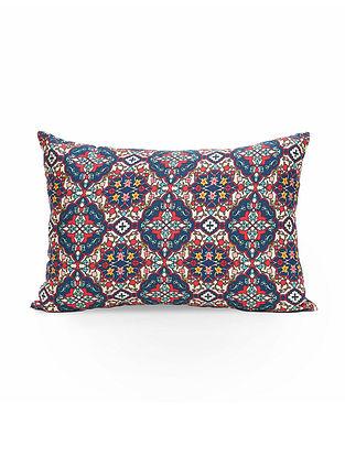 Multicolor Cotton Digital Printed Cushion cover (L- 21in, W- 14in)