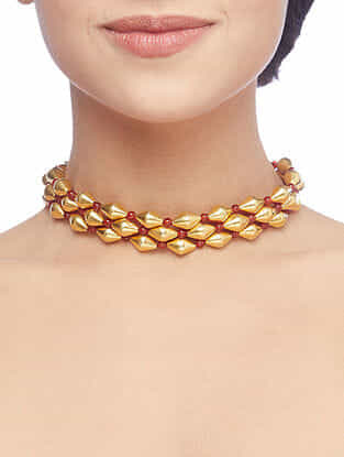 Gold Plated Sterling Silver Choker