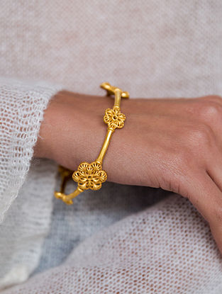 Gold Plated Handcrafted Bangle