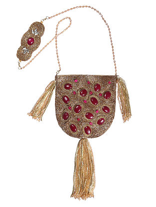 Gold Handcrafted Potli