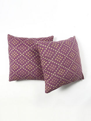 Contrast Living Utran Cotton Printed Cushion Covers (Set of 2) (20in x 20in)