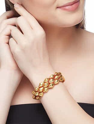 Gold Plated Sterling Silver Bracelet