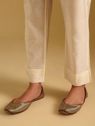 Ivory Chanderi Pants