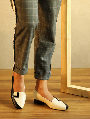 Black Ivory Handcrafted Genuine Leather Block Heels