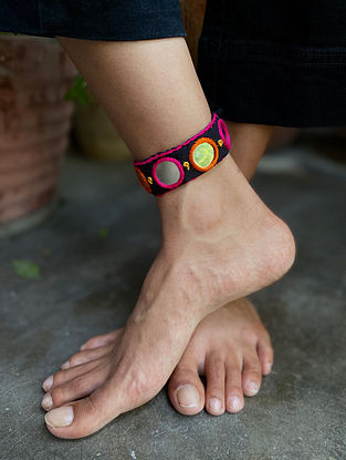 Multicolored Handcrafted Anklet