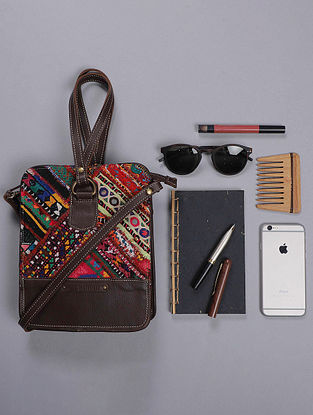 Multicolored Handcrafted Vitage Banjara Sling Bag