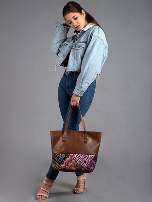 Multicolored Handcrafted Vintage Banjara Tote Bag