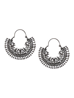 Tribal Silver Bali Earrings