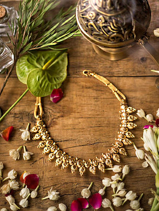 Gold Plated Silver Necklace