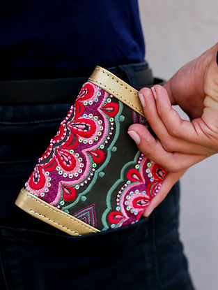 Multicolored Handcrafted Leather Wallet