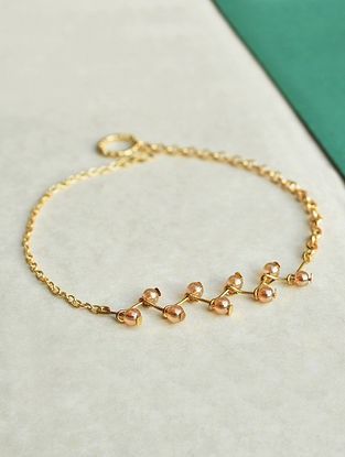 Gold Tone Handcrafted Anklets