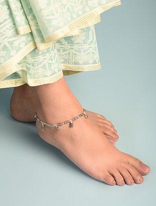 Labradorite  Sterling Silver Anklet