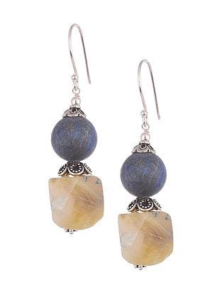 Drusy Agate  Sterling Silver Earrings