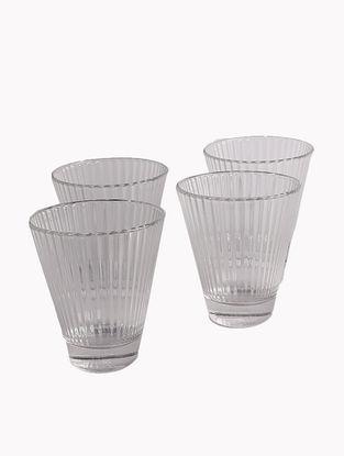 Clear Samudra Juice Glass (Set Of 4)