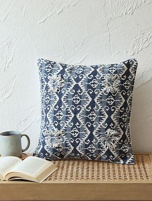 Blue Cushion Cover (L - 24in ,W - 24in)