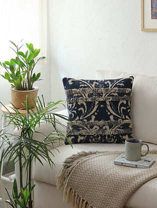 Multicolor Cushion Cover (L - 16in ,W - 16in)