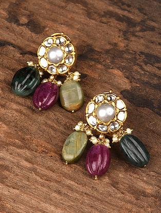 Gold Polki Earrings