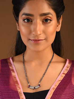 Red Silver Mangalsutra