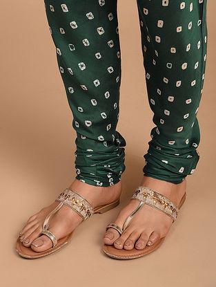 Sea Green Cotton Silk Churidar