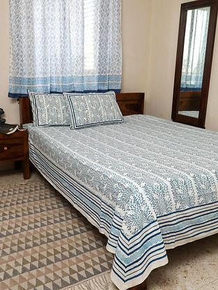 Blue King Bedsheet Set