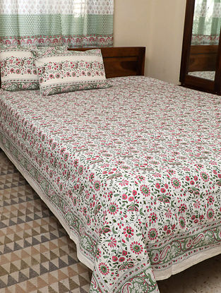 Multicolour King Bedsheet Set