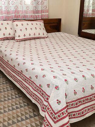 Pink King Bedsheet Set