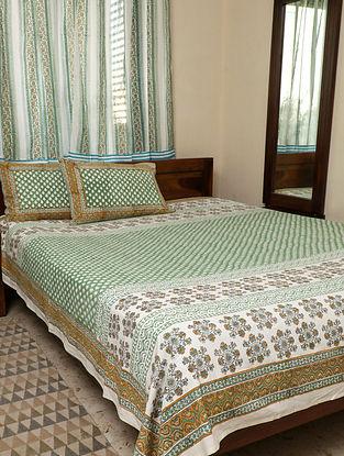 Yellow King Bedsheet Set