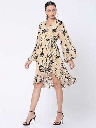 Ivory Crepe Dress