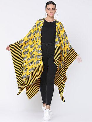 Yellow Crepe Jacket