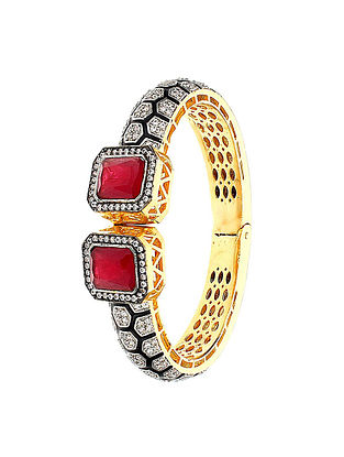 Red Handcrafted Bangle