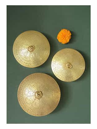 Handmade Brass Box (Set of 3)