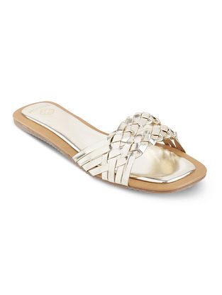 Gold Handcrafted Flats