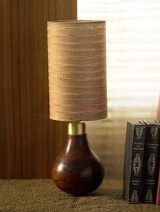Brown Surmayi Table Light (Dia-5in, H-14.5in)