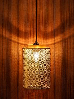 Antique Gold Ruhani Pendant Light (Dia-7.5in, H-10in)