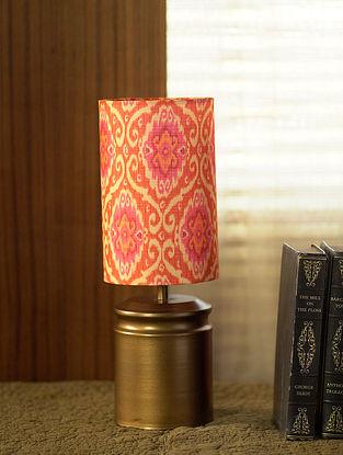 Antique Gold Vande Ikat Table Light (Dia-5in, H-14in)