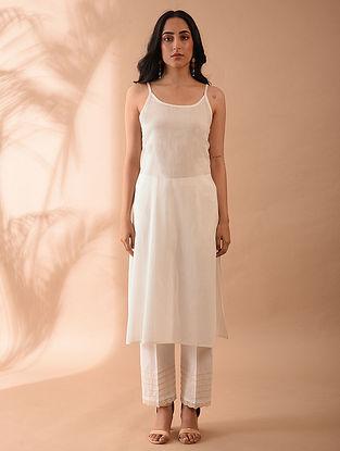 Off White Cotton Slip