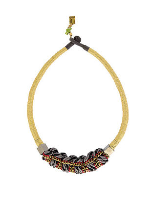 Black Grey Handcrafted Necklace