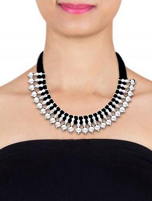 Black Sterling Silver Necklace