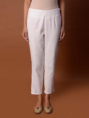 White Cotton Pant